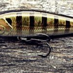 Major Craft Zoner Jerk Bait - Blue Gill