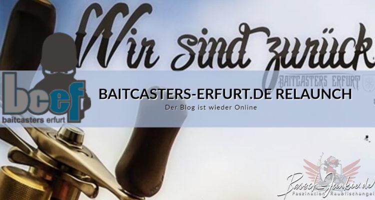 Baitcasters-Erfurt Relaunch gute alte Zeit