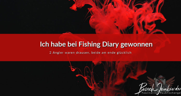 Fishing Diary ich habe gewonnen