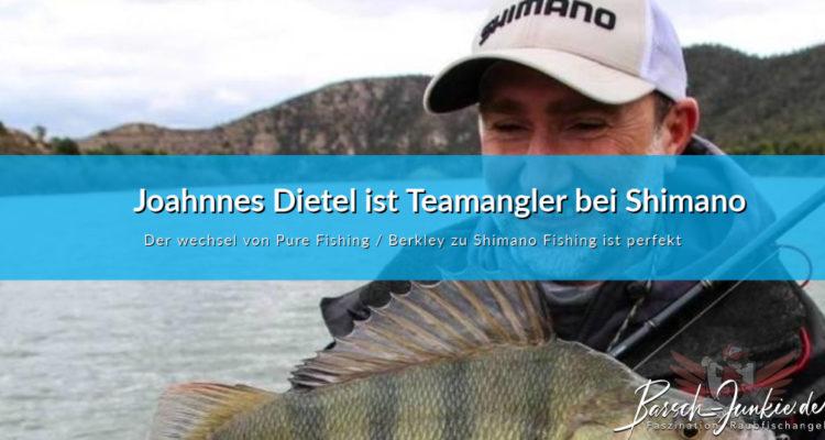 Johannes Dietel ist Teamangler bei Shimano