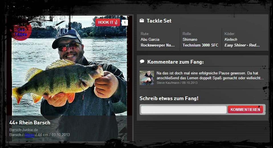 44 rhine perch fang des tages