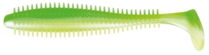 Fox Spikey Shad Limetreuse