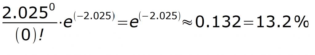Poisson-Verteilung berechnen