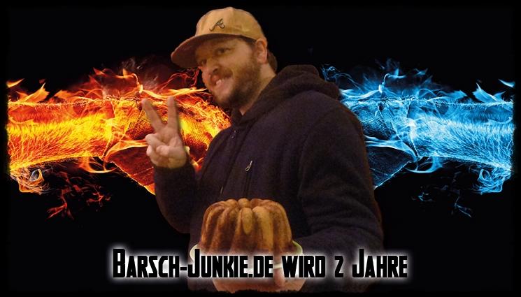 Happy Birthday 2 Jahre Barsch-Junkie.de