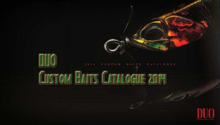 DUO Custom Baits Catalogue 2014