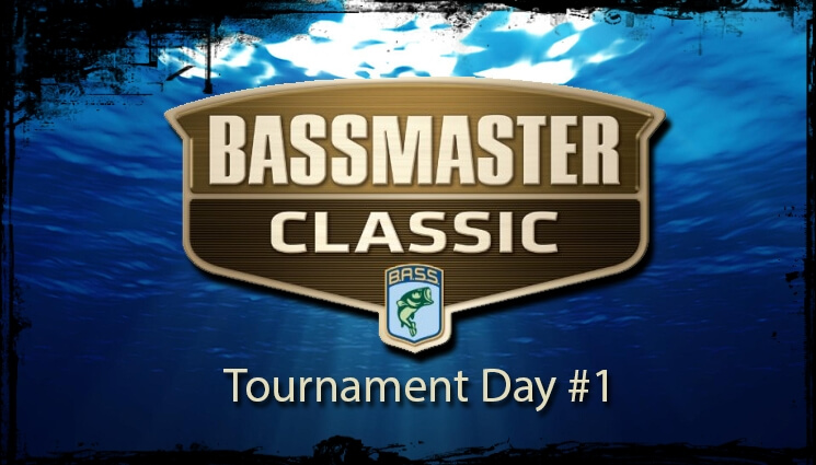 Bassmaster Classics 2014 – Tournament Day #1