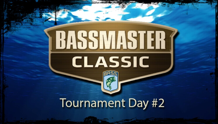 bassmaster classic 2014 day two