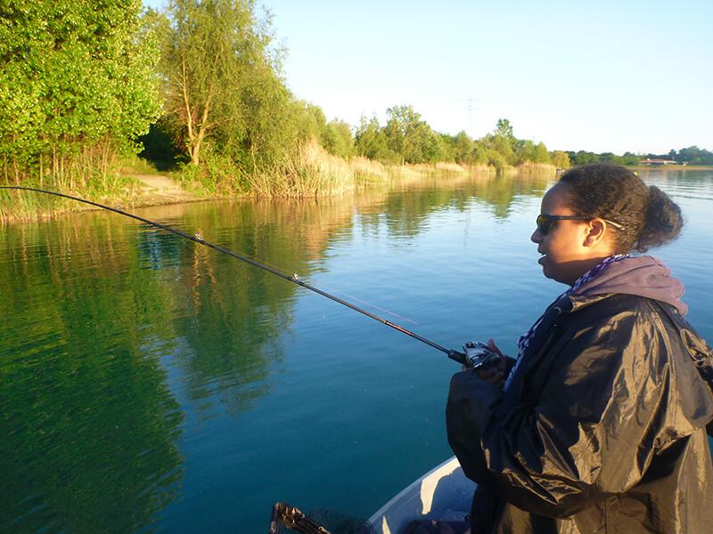fishing girl judith