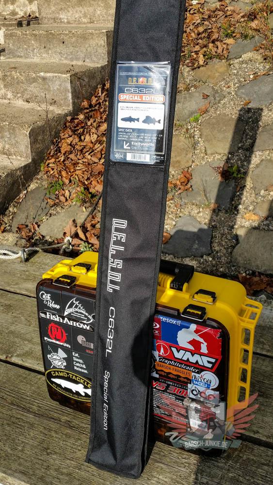 tailwalk del sel s632L sp baitcast rod 001 8 von 9