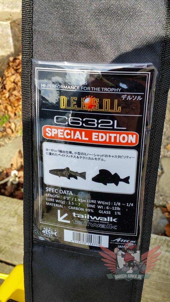 tailwalk del sel s632L sp baitcast rod 001 9 von 9