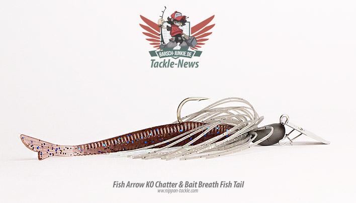 ko chatter bait brath fish tail