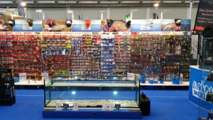 Der Stand von Nippon-Tackle auf der AquaFisch 2017 in Friedrichshafen