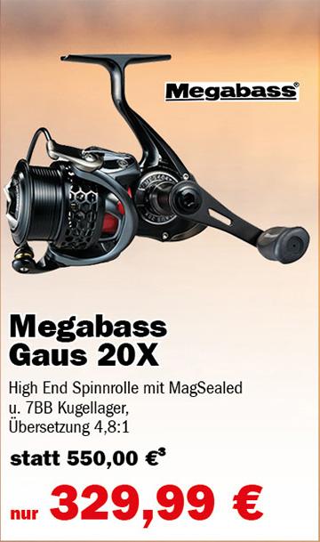 Megabass Gaus 20x