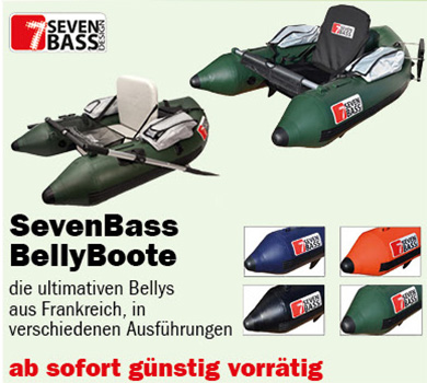 Seven Bass Belly Boot