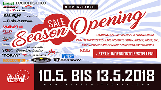 Season Opening Nippon Tackle