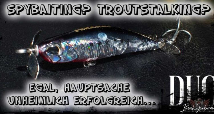 spinbait spaybaits troutstalking barsch junkie
