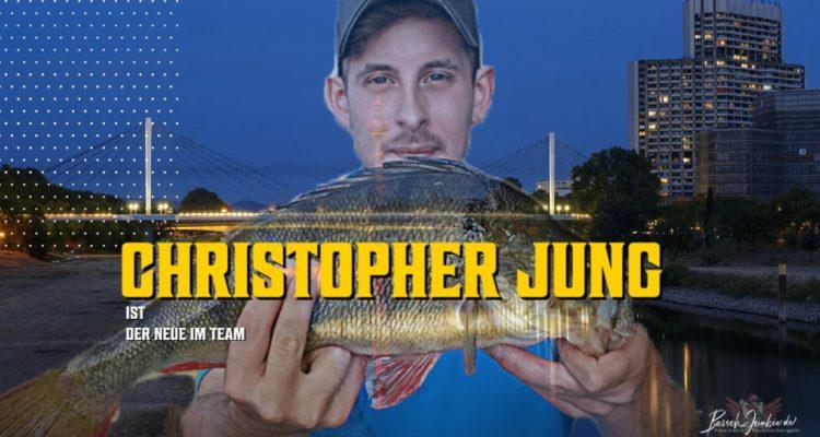 Christopher Jung der neue im Team