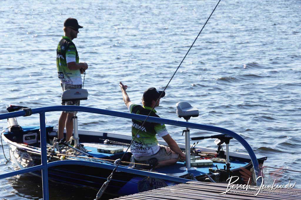 Illex Lake Trophy 2013 Chillen auf dem Boot