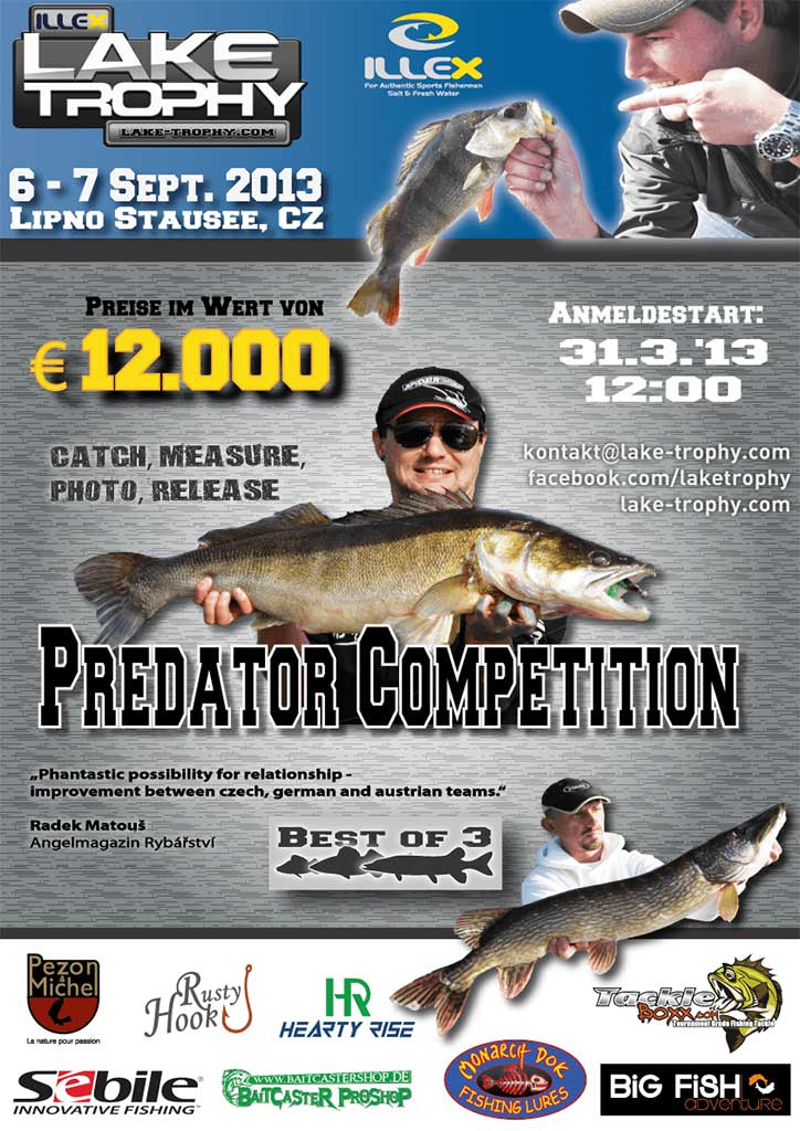 Illex Lake Trophy 2013 Event Flyer