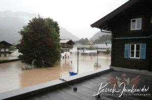 Hochwasser 2013 in Kössen