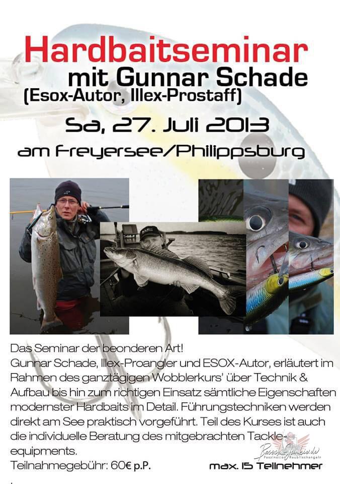 Hardbaitkurs mit Gunnar Schade