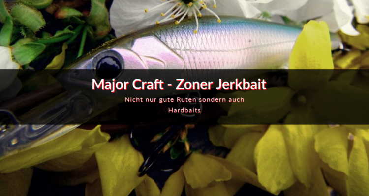 Major Craft Zoner Jerkbait